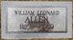 William Leonard Allen