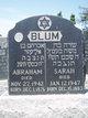 Profile photo:  Abraham Blum