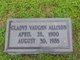 Gladys Mynelle <I>Vaughn</I> Allison