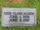 Ossie Claire Allison