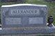 "Laura ""Louise"" <I>Bryant</I> Alexander"