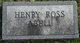Profile photo:  Henry Ross Abell