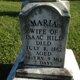 Maria B <I>Barger</I> Hill