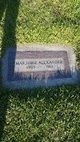 Profile photo:  Marjorie I. <I>Graham</I> Alexander