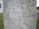 Lillian A. Marshall