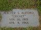 "Profile photo:  Walter S. ""Cricket"" Alford"