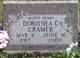 Profile photo:  Dorothea Coral <I>Emery</I> Cramer