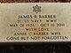 """James R. """"Sonny Boy"""" Barber"""