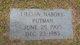 Profile photo:  Lillian E. <I>Nabors</I> Putman