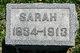 Sarah Maria <I>Korns</I> Ammerman