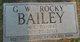 """Profile photo:  G. W. """"Rocky"""" Bailey"""