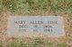 Mary Allen <I>Eubanks</I> Fine