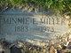 Minnie Ethel <I>Richardson</I> Miller