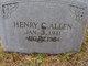 Henry Clyde Allen
