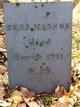 Profile photo: Rev Benjamin Manson