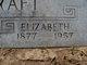 Elizabeth <I>Sturgeon</I> Haycraft