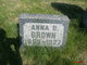 Profile photo:  Anna B Brown