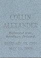 Collin Alexander Cox