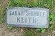 Sarah Ann <I>Shinkle</I> Keith