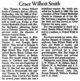 """Grace Elizabeth """"Beth"""" <I>Wilhoit</I> Smith"""