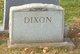Profile photo:  Dixon