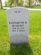 Elizabeth R. <I>Beck</I> Knight