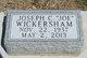 """Joseph C """"Joe"""" Wickersham"""