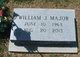 "William J ""Billy"" Major"