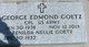 """George Edmond """"Bud"""" Goetz"""