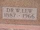 Profile photo: Dr William Lew Ayres