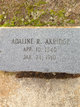 Profile photo:  Adaline Rachel Akridge