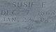 """Susan Ellen """"Susie"""" <I>Harris</I> Elder"""