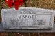 Allene <I>Walker</I> Abbott