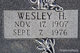 Profile photo:  Wesley H Farley