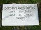 Dorothy <I>Ames</I> Snyder