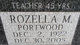 Rozella Mae <I>Portwood</I> Bauer