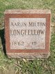 Profile photo:  Aaron Milton Longfellow