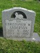 Christopher W. Anderson