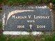 Marian V <I>Gibbs</I> Lindsay