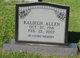 Raliegh Allen