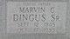 Marvin C Dingus, Sr