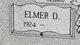 Elmer D Adams