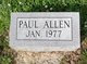 Profile photo:  Paul Allen