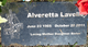 "Alvertta ""Alvie"" Lavelle"