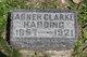 Profile photo:  Abner Clark Harding, II