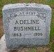 Profile photo:  Adeline <I>Griner</I> Bushnell