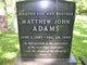 Matthew John Adams