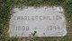 Profile photo:  Charles F. Chilton