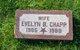 Profile photo:  Evelyn B. Chapp
