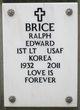 Profile photo:  Ralph Edward Brice